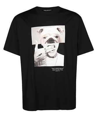 Neil Barrett PBJT690B-N536S BULLDOG-MAN T-shirt