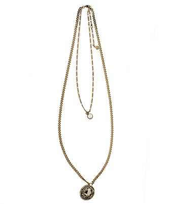 Alexander McQueen 607126 J160Z SIGNATURE Necklace