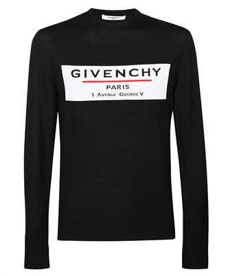Givenchy BM90BT406B JACQUARD MOTIF LOGO Knit