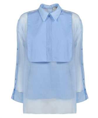 Fendi FS7413 AC6U FRONT POPLIN PLASTRON Shirt