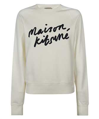 Maison Kitsune FW00335KM0001 HANDWRITING ADJUSTED Felpa