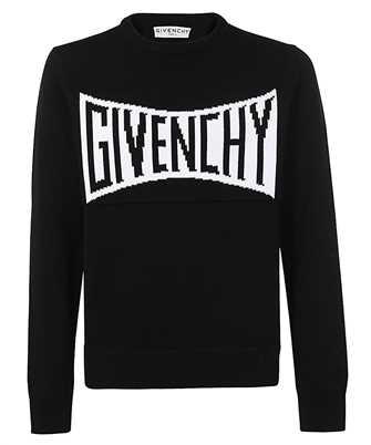 Givenchy BM90F7401M INTARSIA-KNIT LOGO Knit