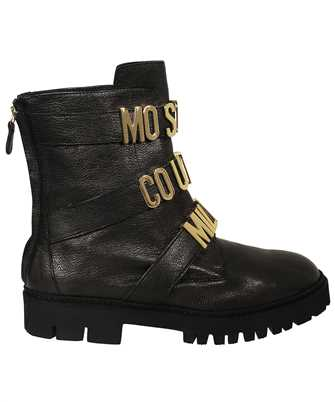 Moschino MA24034G1DMH0 LETTERING MULTI-STRAPS ANKLE Boots