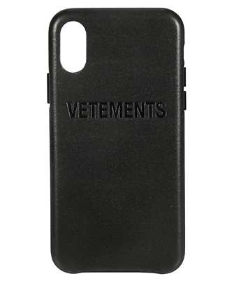 Vetements UAH20AC900 BLACK iPhone X/XS cover