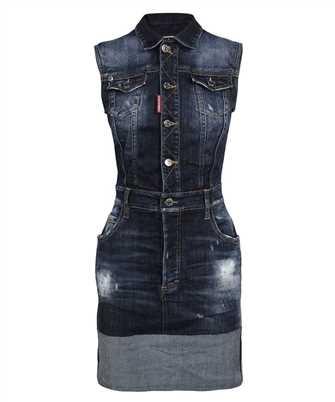 Dsquared2 S72CV0217 S30708 TRIPLE-X CUFF DENIM Dress