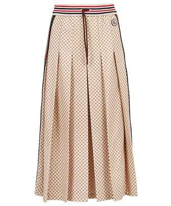 Gucci 661786 XJDFP INTERLOCKING G PRINT PLEATED Skirt