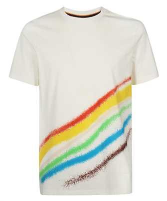 Paul Smith M1R 697P FP2693 SPRAY STRIPE PRINT T-shirt