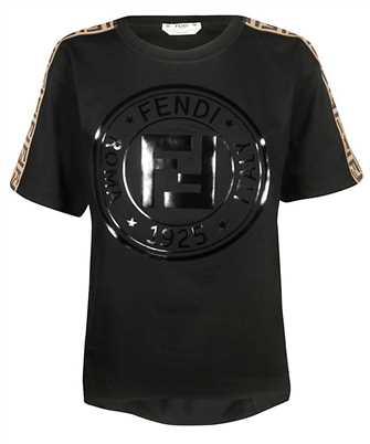 Fendi FAF073 A8WI FRONT LOGO T-shirt