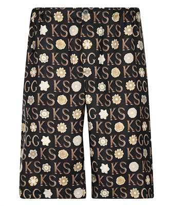 Gucci 649062 ZAGAR KEN SCOTT PRINT SILK Shorts