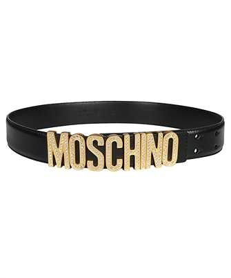 Moschino A8013 8006 RHINESTONES LOGO Gürtel