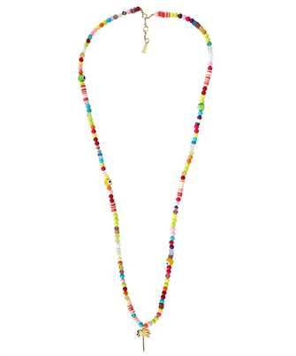 Palm Angels PMOB013F21MET001 LONG PALM RAINBOW Necklace
