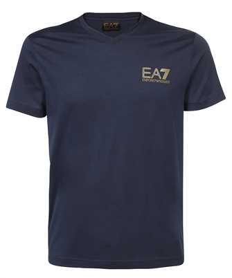 EA7 3KPT86 PJM9Z LOGO COTTON T-shirt