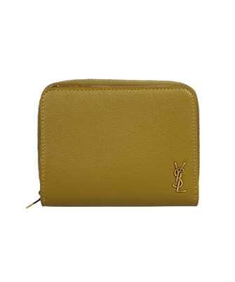 Saint Laurent 668936 15B0W SMALL ZIP-AROUND Wallet