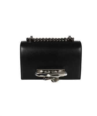 Alexander McQueen 657177 CMO0Y SCULPTURAL MINI JEWELLED Tasche