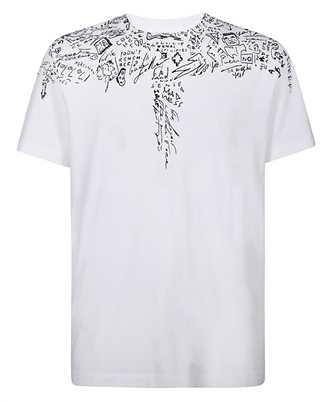 Marcelo Burlon CMAA018E20JER005 SKETCHES WINGS T-shirt