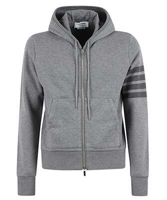 Thom Browne MJT249A 06910 RELAXED FIT TONAL 4-BAR Hoodie