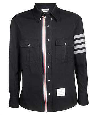 Thom Browne MWL303A-05245 4 BAR NORFOLK Shirt