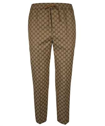 Gucci 569769 ZKU09 GG CANVAS JOGGING Trousers