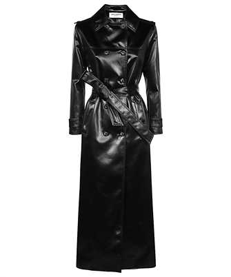 Saint Laurent 634650 Y7B15 FLUID CHINTZ Coat
