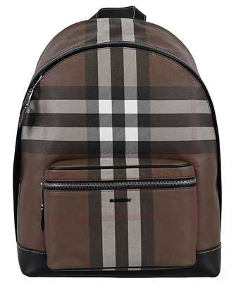 Burberry 8036549 CHECK E-CANVAS Backpack