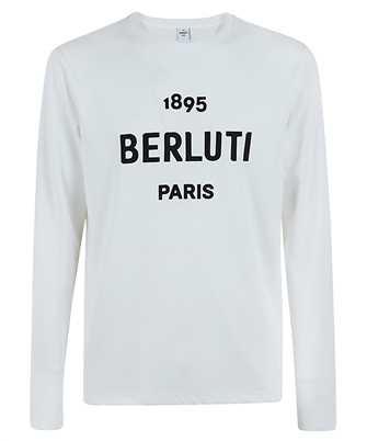 BERLUTI R19JRL52 001 EMBROIDERED LOGO T-shirt