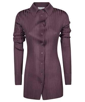 Bottega Veneta 647141 VKJM0 RIBBED SILK Shirt