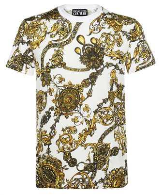 Versace Jeans Couture 71GAH6S0 JS015 SLIM PRINT BIJOUX BAROQUE T-shirt