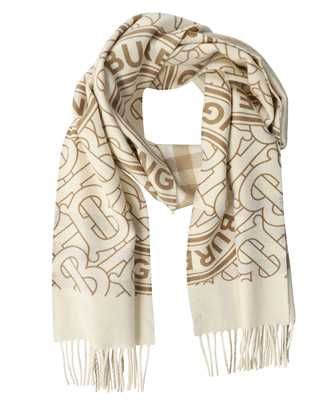 Burberry 8033610 REVERSIBLE CHECK AND MONOGRAM CASHMERE Schal