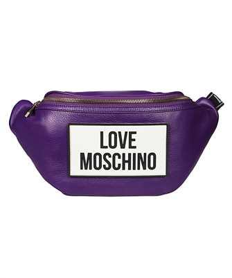 LOVE MOSCHINO JC4303PP0BKQ LOGO PATCH Belt bag