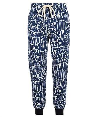 Lanvin RM TR0041 J064 A21 ALLOVER PRINTED JOGGING Trousers