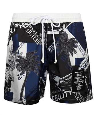 Versace Jeans Couture A4GVB1A6 VUM116 CARS AND PALM Shorts