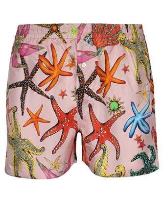 Versace AUD05063 1F01193 TRÉSOR DE LA MER PRINT Shorts