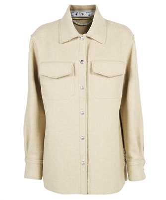 Off-White OWEA261F21FAB001 HEAVY COATING SHIRT Jacket