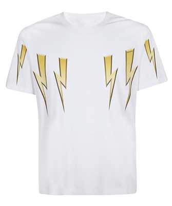 Neil Barrett PBJT782S P538S GOLD BOLT T-shirt