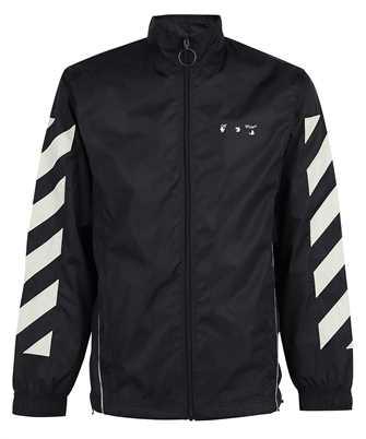 Off-White OMBD022F21FAB001 DIAG NYLON TRACKTOP Jacket