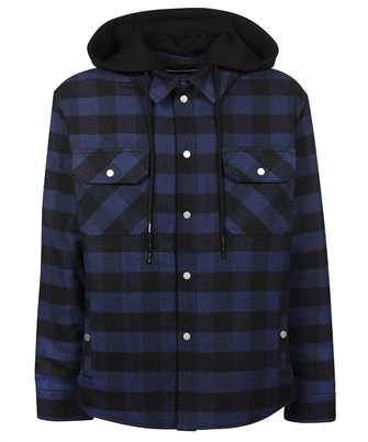 Off-White OMEA236F21FAB001 ARROW PADDED FLANNEL Shirt
