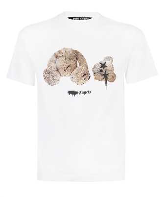 Palm Angels PMAA001F21JER027 BEAR SPRAYED T-shirt