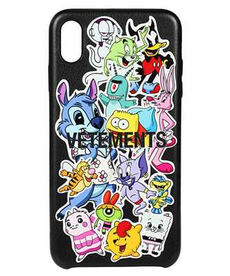 Vetements SA005 MONSTERS STICKERS iPhone XS MAX cover