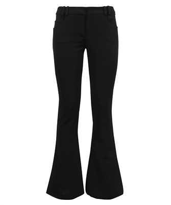 Balmain VF0PP015J017 LOW-RISE JERSEY BOOTCUT Trousers