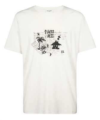 Saint Laurent 605364 YBQG2 HANGOVER T-shirt