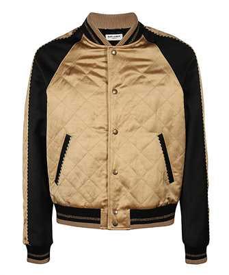 Saint Laurent 643883 Y1C31 QUILTED TEDDY Jacket