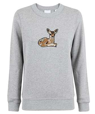 Burberry 8032117 DEER MOTIF OVERSIZED Sweatshirt