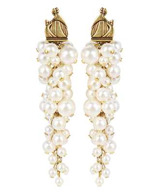 Lanvin AW CJYA0Y PERL A21 MOTHER & DAUGHTER LONG PEARLS Ohrringe