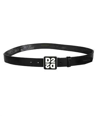 Dsquared2 BEM0241 12900001 MIRRORED D2 PLAQUE Belt