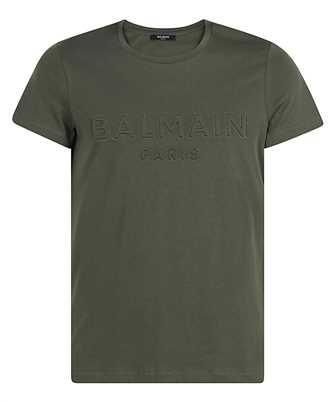 Balmain VH1EF000B038 EMBOSSED LOGO T-shirt