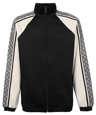 Gucci 545601 XJACZ OVERSIZE TECHNICAL JERSEY Jacket