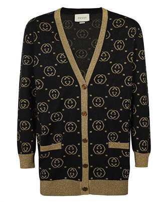 Gucci 555014 XKAH9 GG MOTIF Strickjacke