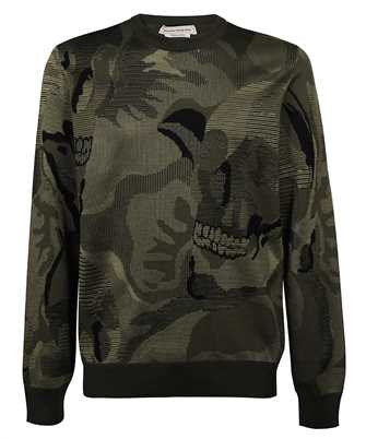 Alexander McQueen 651185 Q1XBE SKULL CAMOUFLAGE Knit