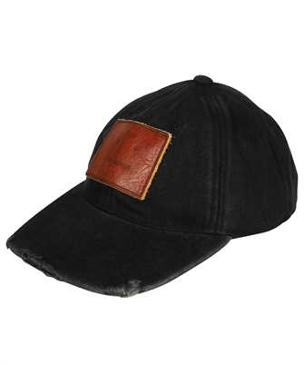 Acne FA-UX-HATS000092 CUNOV CANVAS FRAYED Cappello