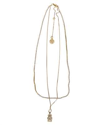 Alexander McQueen 589875 J160T PAVE BEETLE Necklace